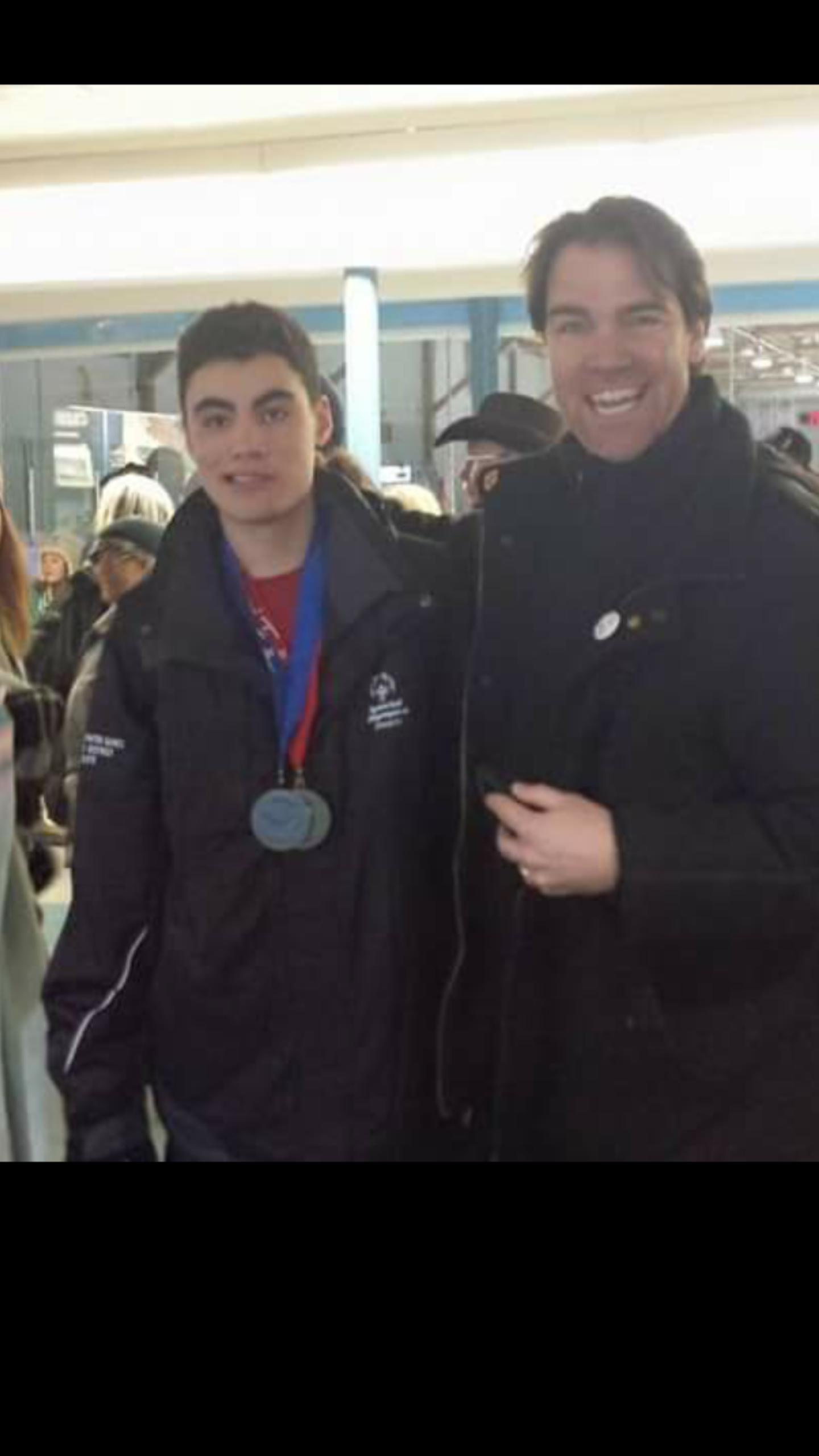 provincials with dad